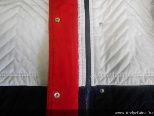 Куртка с клепками