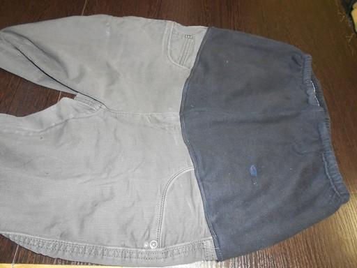 соединяем джинсы и трико