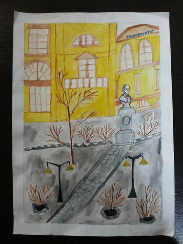 Рисунок Мухаметзяновой Алии