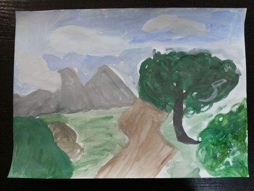 Рисунок Исхаковой Аделины